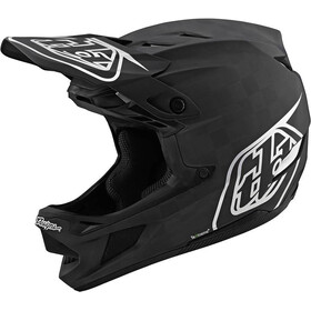 Troy Lee Designs D4 Carbon MIPS Casco, stealth black/silver